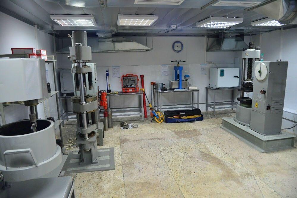 Услуги строительной лаборатории материалов